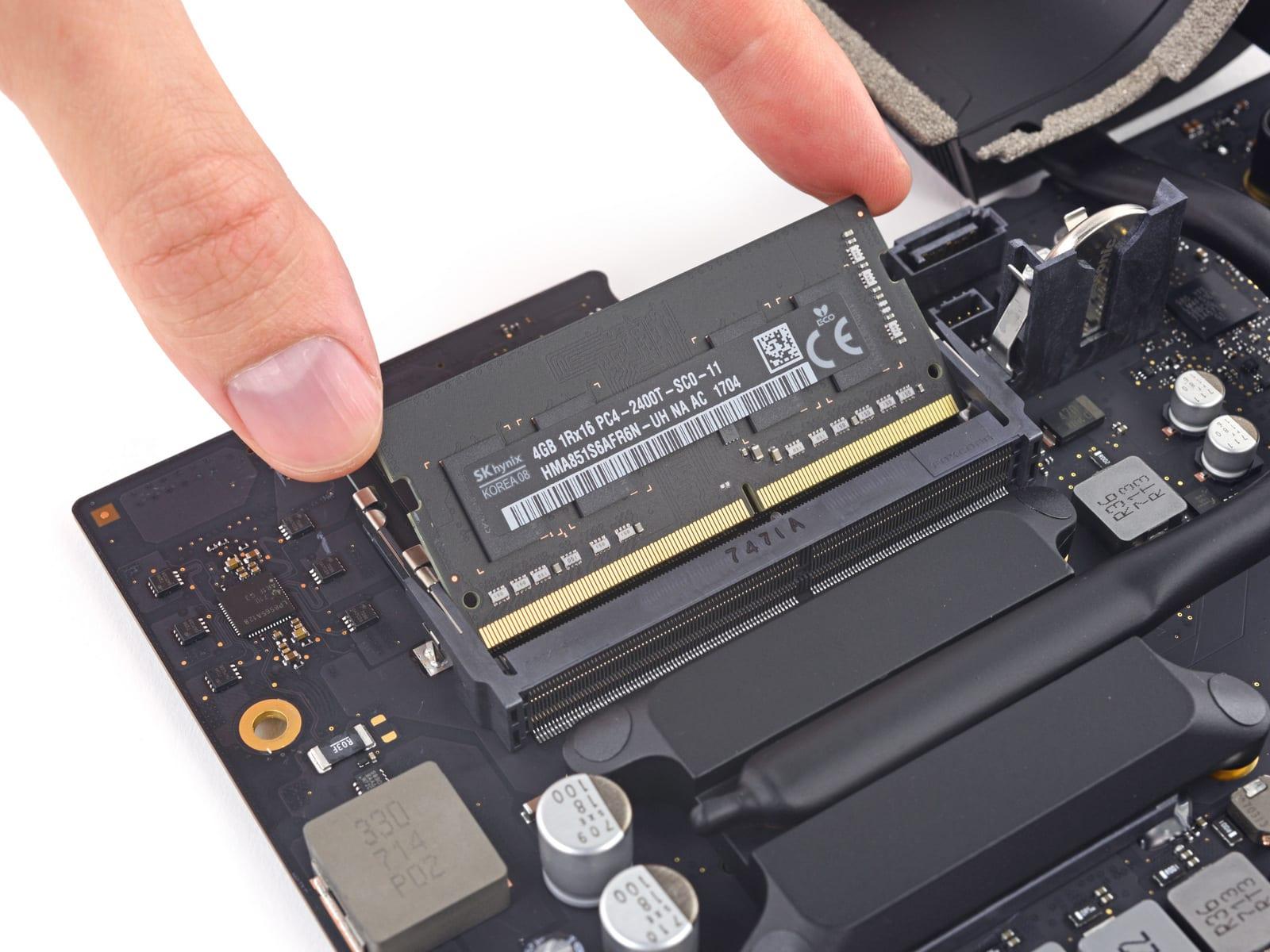 4K iMac 2017 RAM