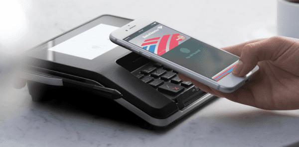 Apple Pay 600x296 - Apple Pay je používáno na 16% všech aktivních iPhonů, větší rozšíření odhadováno za 3 - 5 let