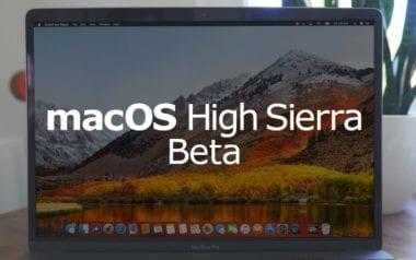 MacOS High Sierra beta 380x238 - Apple vydal i druhou beta verzi macOS High Sierra pro veřejné testery