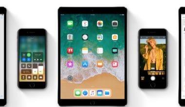 ios 11 ipad iphone devices 380x221 - iOS 11, macOS High Sierra a watchOS 4/tvOS 11 sú už dostupné pre vývojárov
