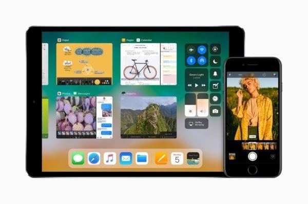 ios 11 ipad iphone devices 1 600x398 - Apple vydal iOS 11.1, prináša desiatky nových emoji, 3D Touch prepínač aplikácií a opravy chýb