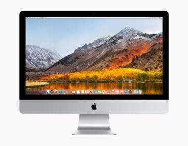 mac sierra homescreen 380x295 - APFS súborový systém nebude fungovať s klasickými pevnými diskami ani s Fusion Drive