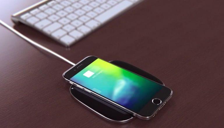 wireless apple iphone concept dock - Nový zvukový súbor v iOS 11 poukazuje na bezdrôtové nabíjanie