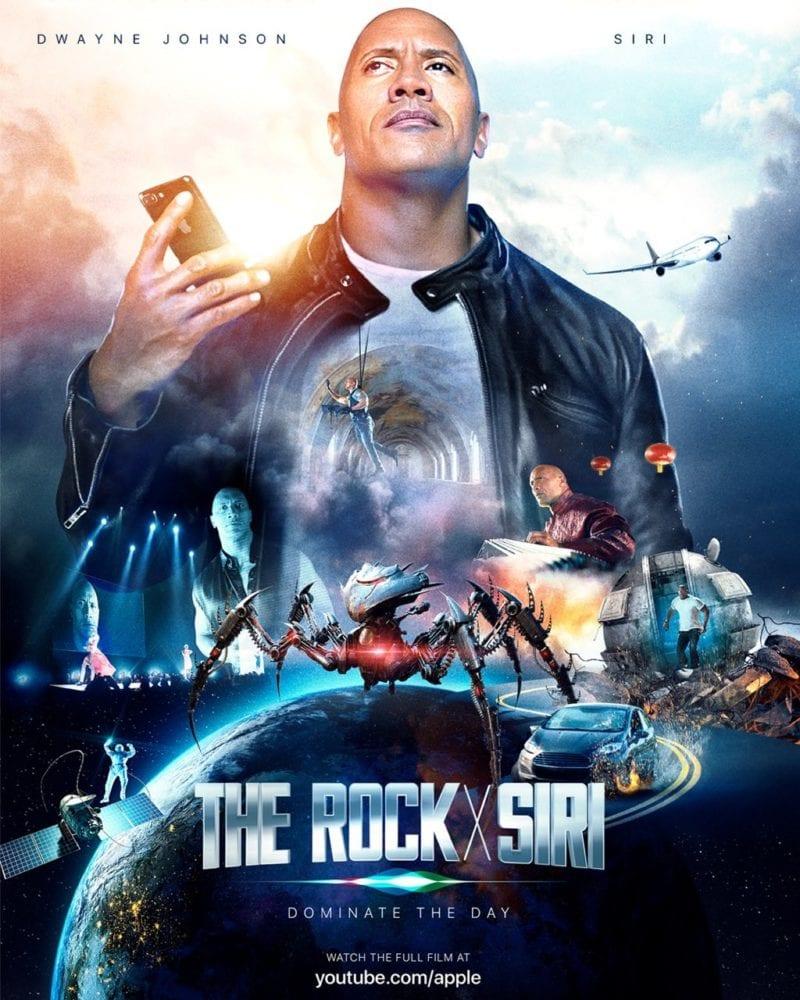 the rock siri movie 800x1000 - Dwayne 'The Rock' Johnson a Siri sú hviezdami nového krátkeho filmu od Applu