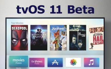 tvOS 11 beta 380x238 - Apple vydal i třetí betu tvOS 11 pro vývojáře
