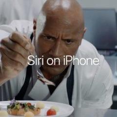 Siri on iPhone  240x240 - Apple zveřejnil dvě nová videa The Rock x Siri