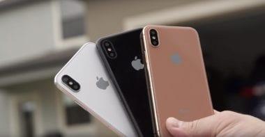 iphone 8 colors1 380x197 - iPhone 7s bude tlustší než předchozí modely. Proč?