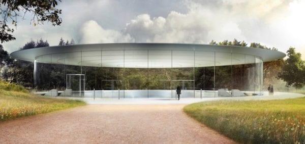Steve Jobs Theater 1 600x285 - Apple získal povolení na uspořádání Apple Special Eventu v Apple Parku teprve minulý týden