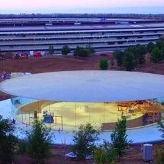 Steve Jobs Theater 240x240 - Podívejte se na vzhled divadla Steva Jobse ještě před prvním oficiálním otevřením!