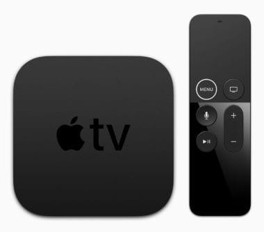 apple tv 4k remote topdown 380x334 - Apple vydal tvOS 11.2 (beta 2) pre verejných beta testerov