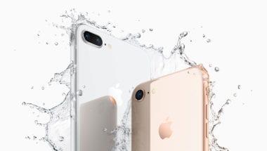 iPhone8Plus iPhone8 water 380x215 - Kromě nových sluchátek se na Apple Online Storu objevily i další nová příslušenství