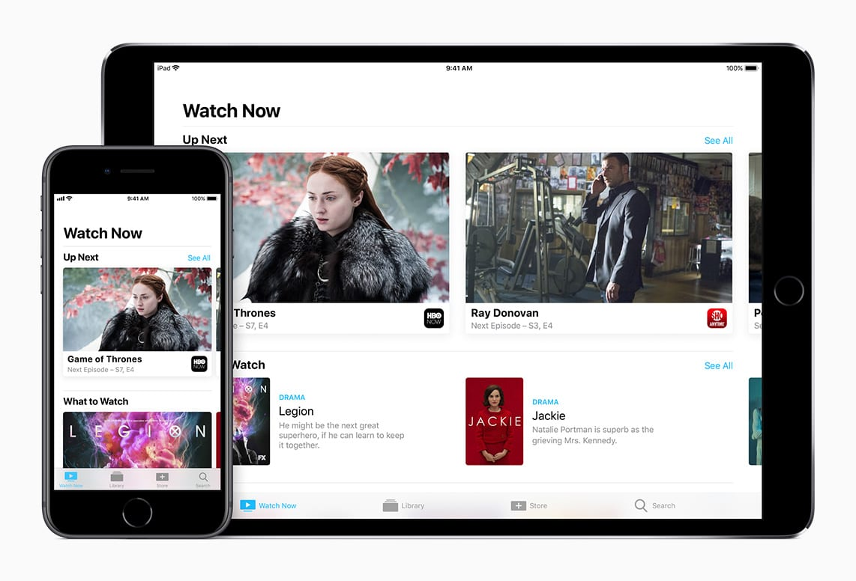 iphone ipad watch now devices tv - Apple plánuje veľký streamovací balíček s hudbou, magazínmi aj video obsahom