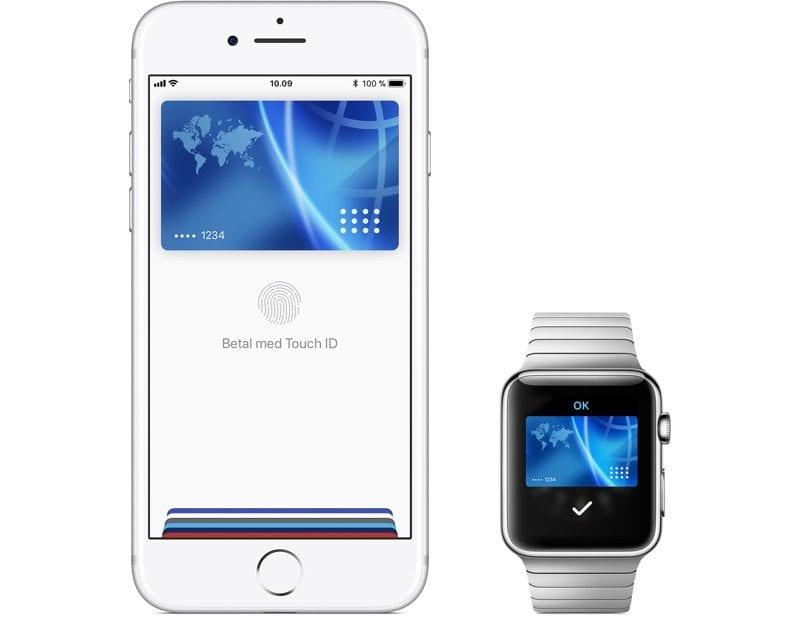 Apple Pay - Apple Pay se rozšířilo do Dánska, Finska, Švédska a SAE