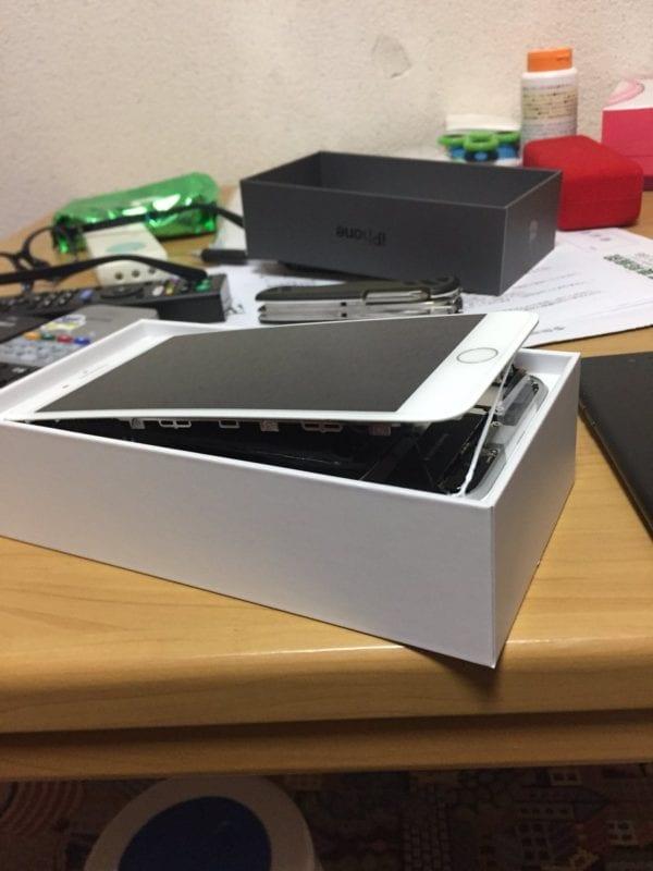 iPhone 8 Plus Swollen Battery