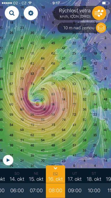 IMG 3470 380x676 - Nová česká aplikácia Ventusky zobrazí vývoj počasia na celom svete – zaujme najmä animáciou vetrov