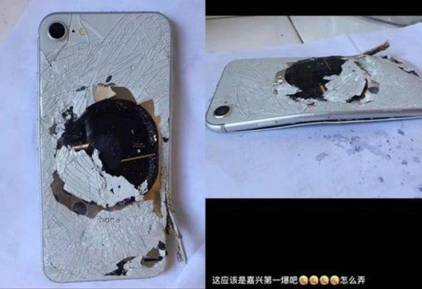 iPhone 8 Explosion