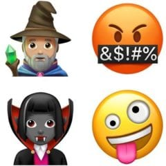 iOS 11 emotikony 1 240x240 - Apple potvrdil, že v iOS 11.1 se nám ukáže spousta nových emotikon...