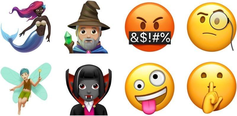iOS 11 emotikony 1 - Apple vydal iOS 11.1, prináša desiatky nových emoji, 3D Touch prepínač aplikácií a opravy chýb