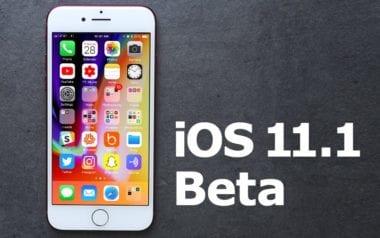 iOS 11.1 beta 380x238 - Apple vydal druhou betu iOS 11.1 pro vývojáře, co je nového?