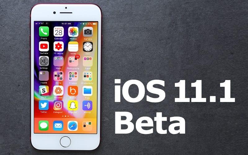 iOS 11.1 beta - Apple vydal druhou betu iOS 11.1 pro vývojáře, co je nového?
