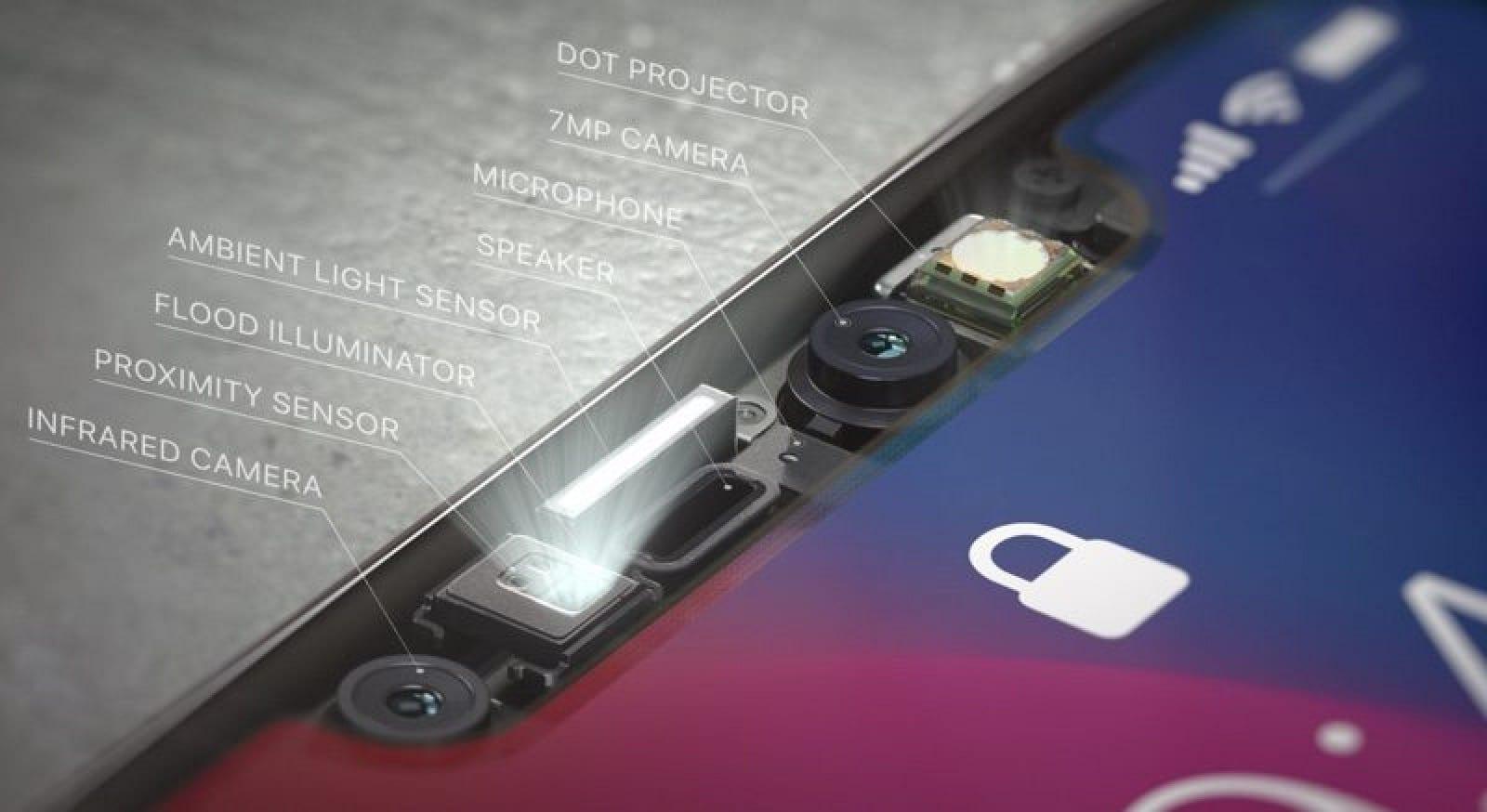 iphonextruedepthcamera 1 800x437 - Nadchádzajúci iPhone pravdepodobne nebude disponovať zadnou TrueDepth kamerou