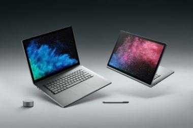 microsoft surface book 2 380x253 - Microsoft predstavil novú generáciu svojho laptopu, Surface Book 2