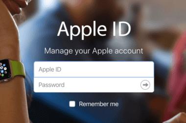 Apple ID 380x251 - Apple konečně umožnil změnit své Apple ID na mail @icloud.com