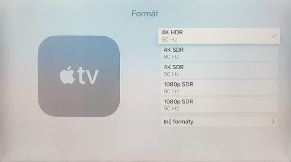 Apple TV Format
