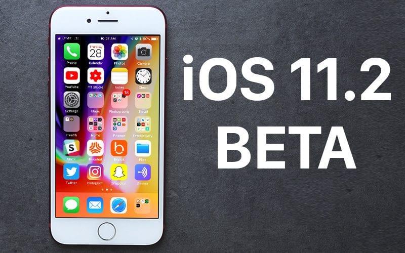 iOS 11.2 beta - Apple vydal třetí beta verzi iOS 11.2 pro vývojáře