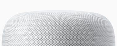 homepod white mesh closeup 380x151 - Tim Cook popsal, čim se nový Apple HomePod odlišuje od ostatních chytrých reproduktorů