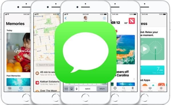ios 11 iphone builtinapps messages 600x369 - iOS 11.3 vracia funkciu Messages v iCloude