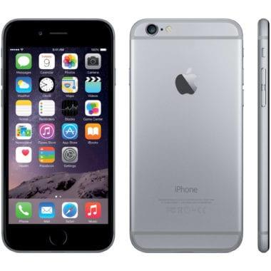 iphone 6 space gray 380x380 - Náhradné batérie pre iPhone 6 Plus sú limitované, čakať sa možno bude až do jari