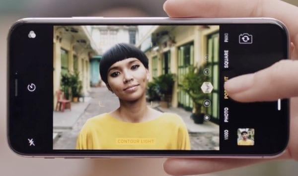 iphone x portrail lihtning ad 600x355 - Pozrite si najnovšie reklamy na iPad Pro, AR a iPhone X kameru