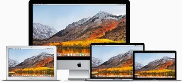 """mac imac macbook pro macbook devices macos high sierra 600x271 - Apple vydal novú reklamu s názvom """"Test the Impossible"""""""