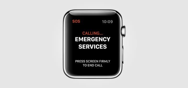 Apple Watch Emergency SOS