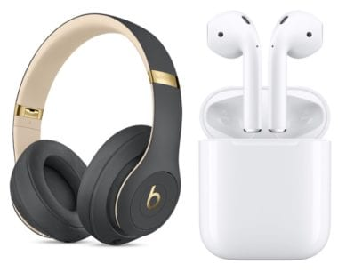 Beats Studio 3 AirPods 380x306 - Apple plánuje v roku 2019 uviesť na trh nový HomePod, AirPods aj nové over-ear slúchadlá