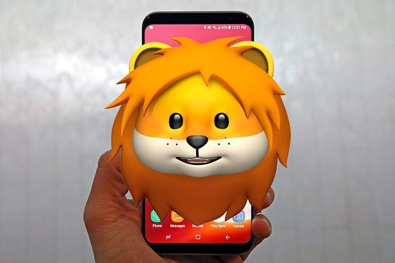 animoji samsung galaxy 800x533 - Samsung plánuje s Galaxy S9 predstaviť vlastnú verziu Animoji