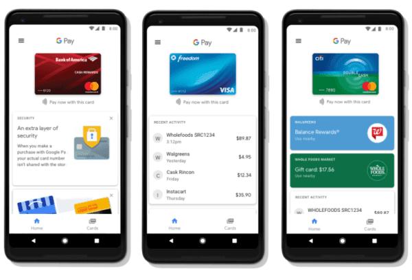 google pay app 600x407 - Platobný systém Google Pay prichádza na Slovensko