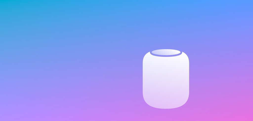 homepod icon gradient - Recenzia: Apple HomePod