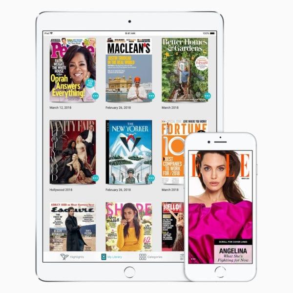 Apple acquires Texture 03122018 600x600 - Predplatné magazínov v Apple News by mohlo prísť už na jar