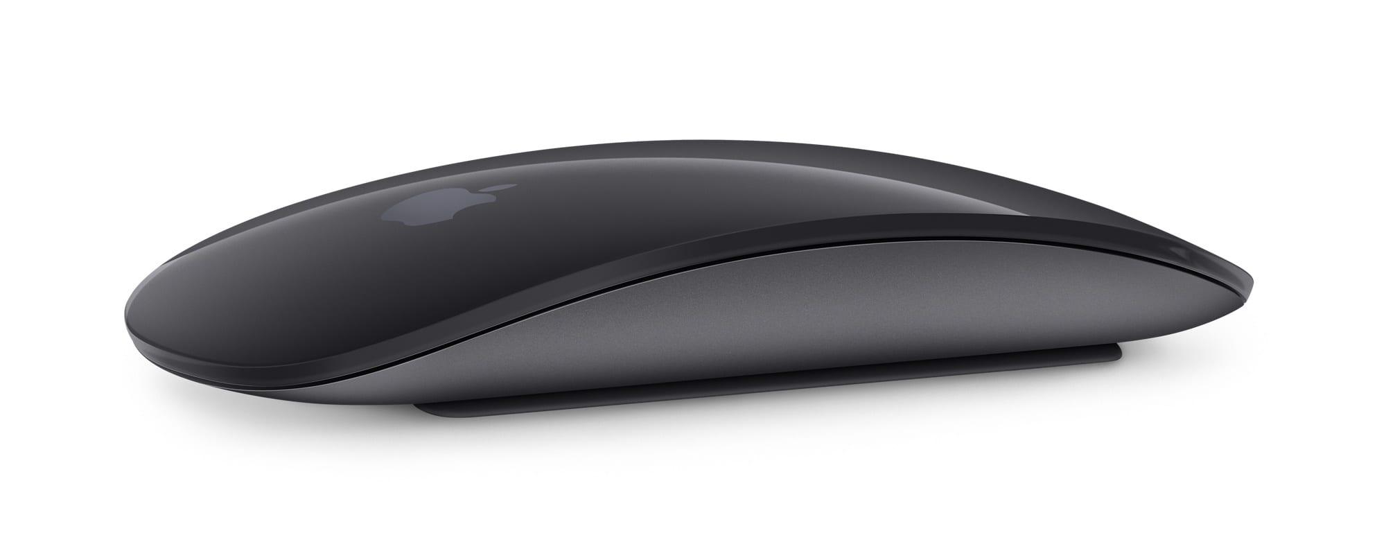 apple magic mouse space gray - Apple začal prodávat černé příslušenství pro iMac Pro zvlášť