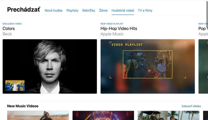 apple music videos itunes 1 800x461 - V Apple Music sa objavila nová sekcia s hudobnými videami