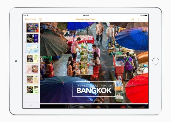 iWork update Pages iBooks 1 032718 600x428 - Apple rozširuje funkcionalitu sady iWork pre iPad
