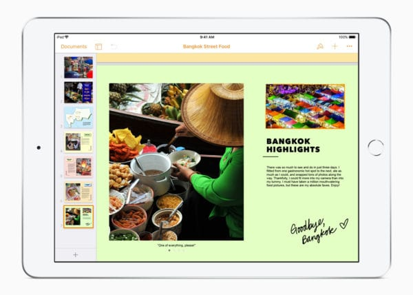 iWork update Pages iBooks 2 032718 600x428 - Apple rozširuje funkcionalitu sady iWork pre iPad