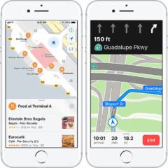 ios 11 new features3 apple maps 240x240 - Apple Maps odteraz podporujú jazdné pruhy v Čechách a ďalších krajinách