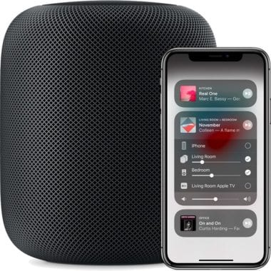 HomePod Control Center AirPlay 2