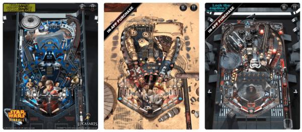 Star Wars Pinball 6 600x262 - Zlacnené aplikácie pre iPhone/iPad a Mac #18 týždeň