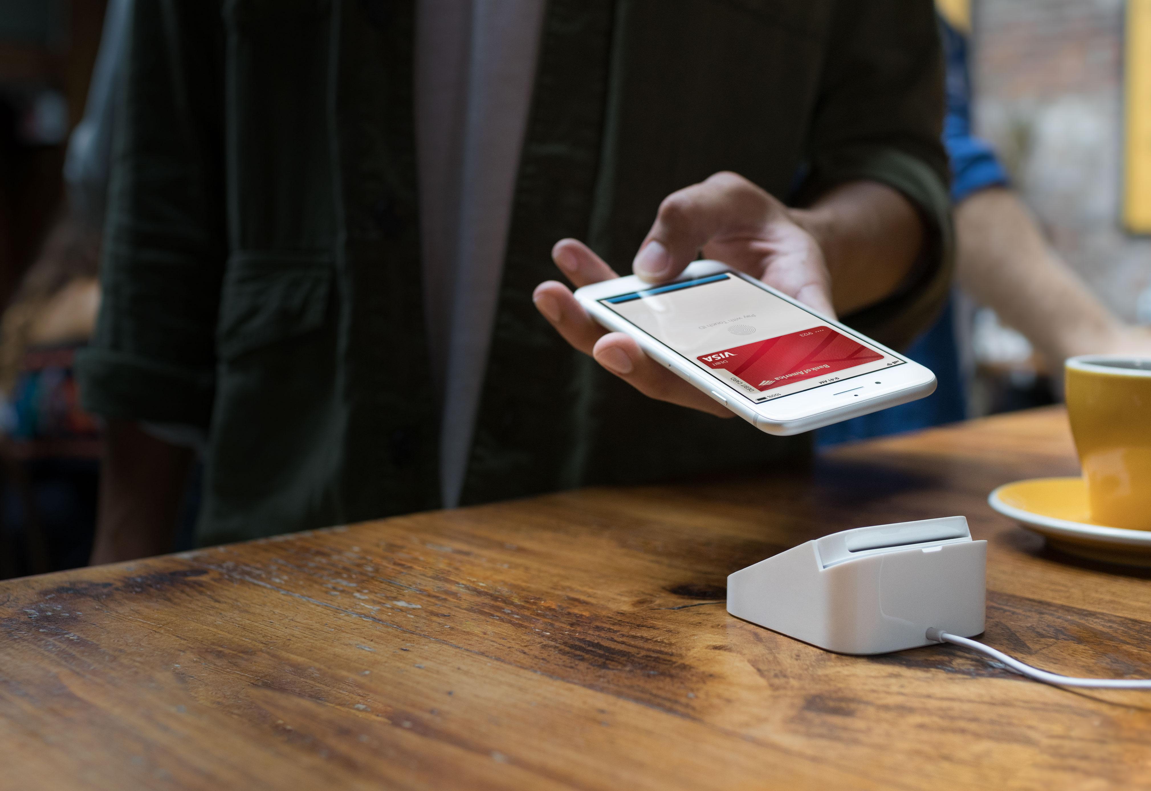 apple pay iphone payment - Apple Pay je dostupné na Slovensku!