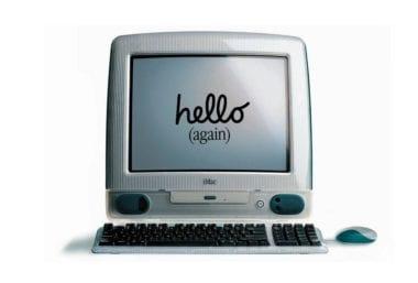 iMac Hello Again 380x257 - iMac oslavuje 20 rokov