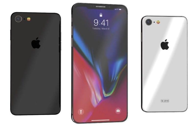 iphone se 2018 mockup 800x516 - Podľa výrobcu obalov bude mať iPhone SE 2 obrovský displej s výrezom na kameru